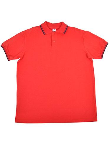 Camisa Polo Piquet Vermelha